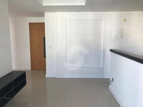 cobertura residencial à venda, santa rosa, niterói. - co5711