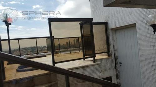cobertura residencial à venda, santana, são paulo. - co0004