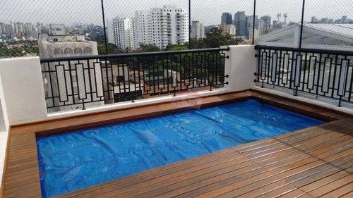 cobertura residencial à venda, santo amaro, são paulo. - codigo: co0114 - co0114