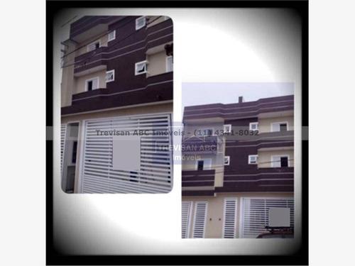 cobertura residencial à venda, vila aquilino, santo andré - co0037. - co0037
