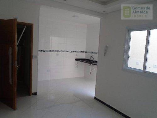 cobertura residencial à venda, vila bastos, santo andré - co0320. - co0320