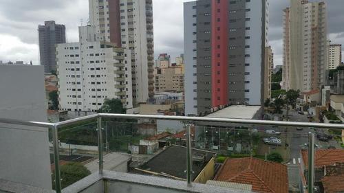 cobertura residencial à venda, vila bastos, santo andré - co0631. - co0631