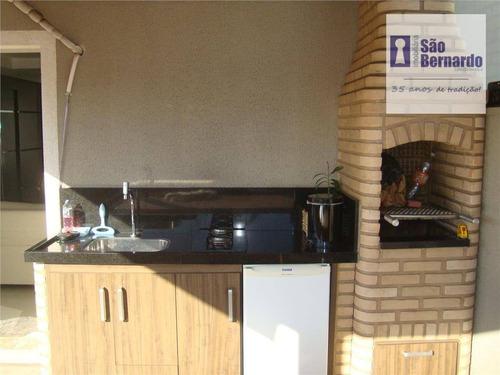 cobertura residencial à venda, vila belvedere, americana. - co0007