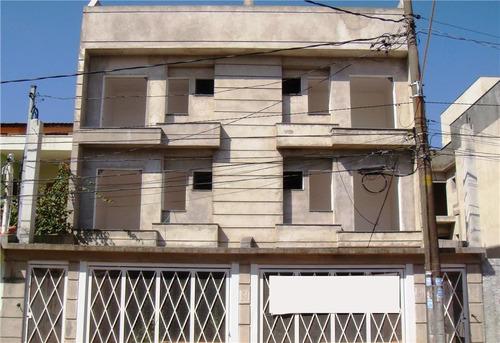 cobertura  residencial à venda, vila curuçá, santo andré. - co0166