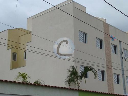 cobertura residencial à venda, vila curuçá, santo andré. - co0476