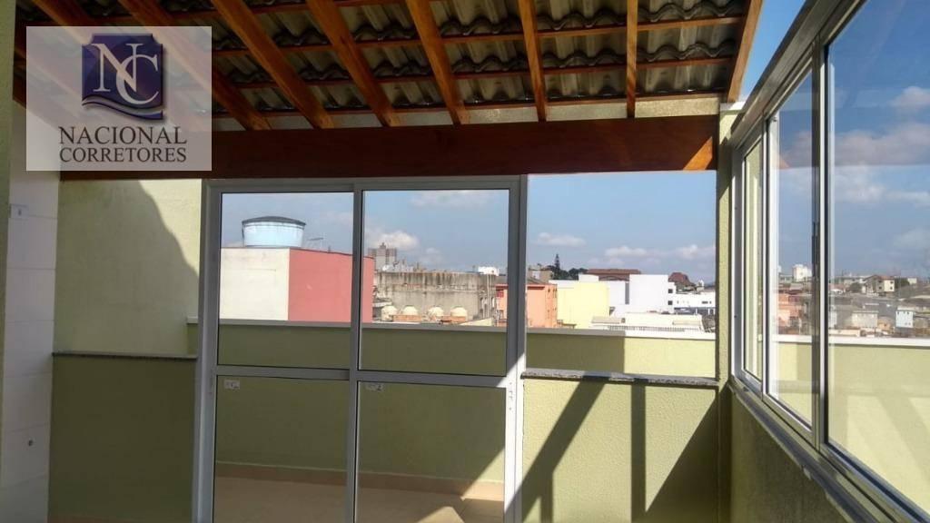 cobertura residencial à venda, vila francisco matarazzo, santo andré. - co3362