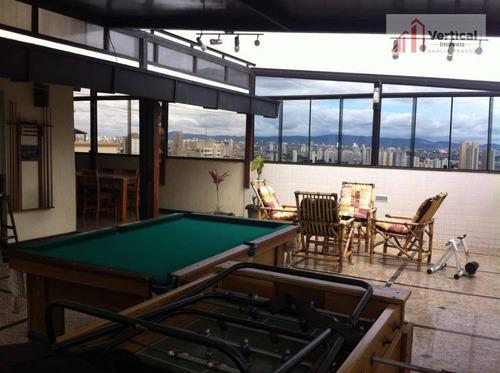 cobertura residencial à venda, vila gomes cardim, são paulo - co0338. - co0338