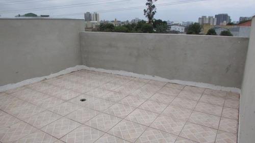 cobertura  residencial à venda, vila guarani, santo andré. - co0668