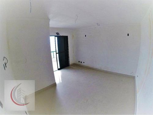 cobertura residencial à venda, vila guilhermina, praia grande. - co0033
