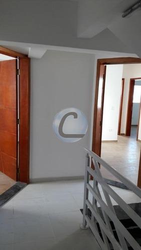 cobertura residencial à venda, vila helena, santo andré. - co0469