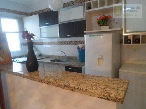 cobertura residencial à venda, vila humaitá, santo andré - co0275. - co0275