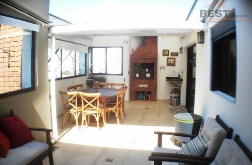 cobertura residencial à venda, vila leopoldina, são paulo. - co0226