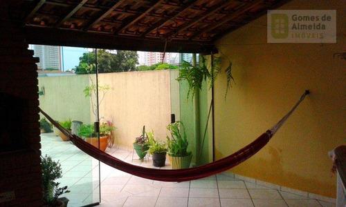 cobertura residencial à venda, vila marina, santo andré - co0067. - co0067