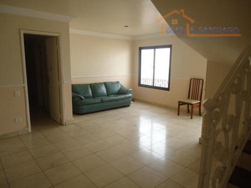 cobertura residencial à venda, vila monumento, são paulo - co0001. - co0001