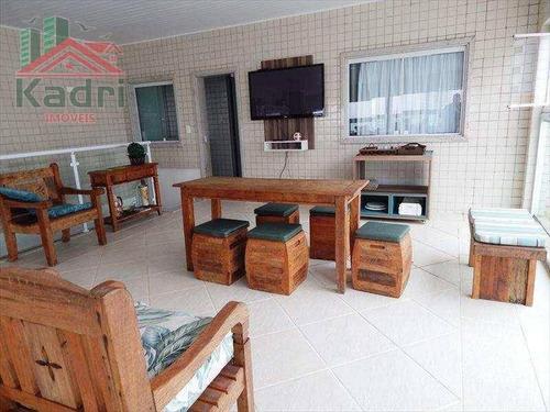 cobertura residencial à venda, vila tupi, praia grande. - co0008