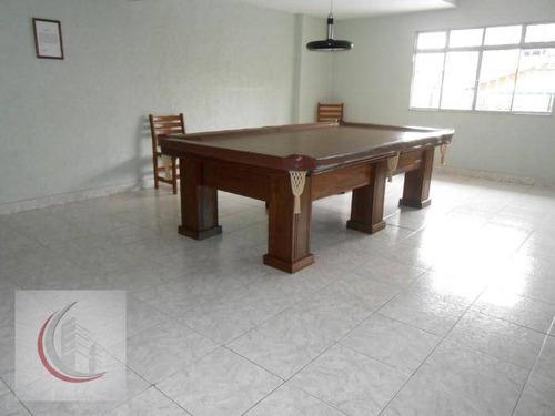 cobertura residencial à venda, vila tupi, praia grande - co0017. - co0017