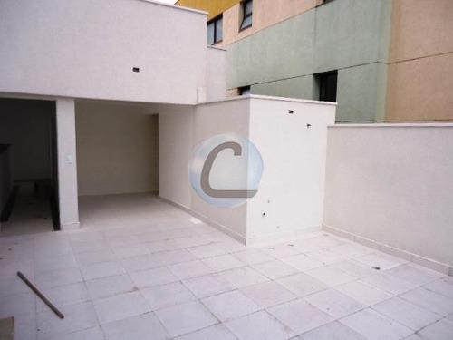 cobertura residencial à venda, vila valparaíso, santo andré - co0149. - co0149