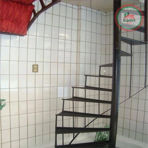 cobertura residencial,á venda.canto do forte - co0019