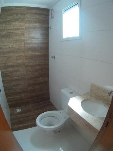 cobertura sem condomínio 87m², 2 dormitórios, 2 vagas, vila helena, santo andré. - co0476