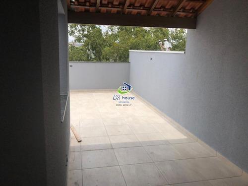 cobertura sem condomínio parque erasmo assunção - 6434