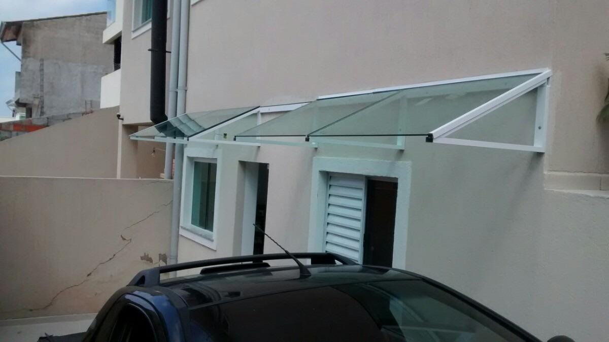 Cobertura toldo em vidro e aluminio r 490 00 em for Herrajes para toldos de aluminio