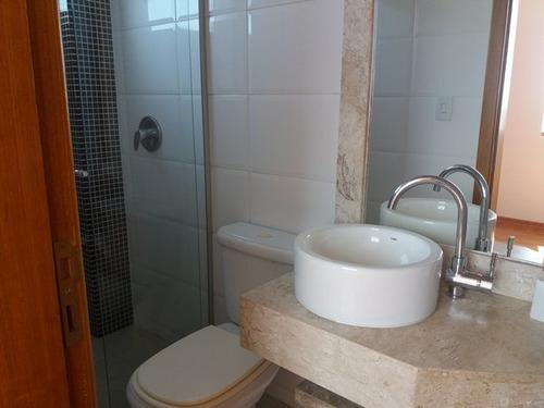 cobertura triplex acabamento fino, hidro, churrasqueira, sauna - 1178