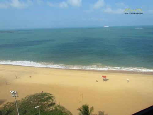 cobertura triplex de frente para o mar praia da costa - co0155