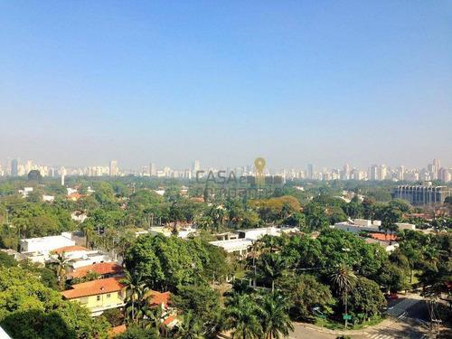 cobertura triplex no jardim paulista. 584 m² área útil, 3 vagas - co0001