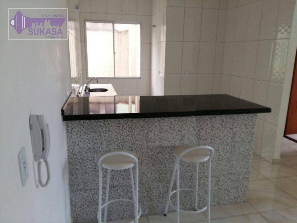 cobertura à venda, 100 m² por r$ 260.000,00 - vila camilópolis - santo andré/sp - co0334