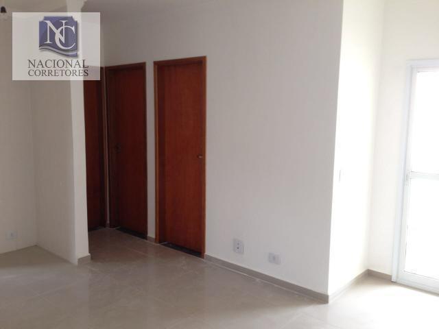 cobertura à venda, 120 m² por r$ 295.000,00 - parque das nações - santo andré/sp - co2119