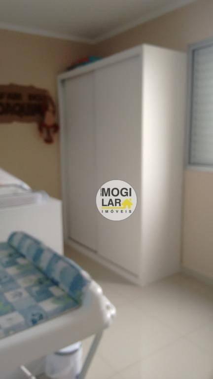 cobertura à venda, 120 m² por r$ 450.000,00 - vila mogilar - mogi das cruzes/sp - co0004