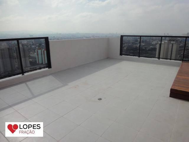 cobertura à venda, 140 m² por r$ 980.000,00 - mooca - são paulo/sp - co0035