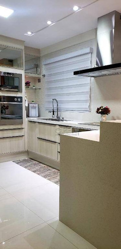 cobertura à venda, 170 m² por r$ 630.000,00 - vila camilópolis - santo andré/sp - co2009
