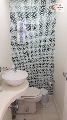 cobertura à venda, 202 m² por r$ 2.000.000 - vila mariana - são paulo/sp - co0165