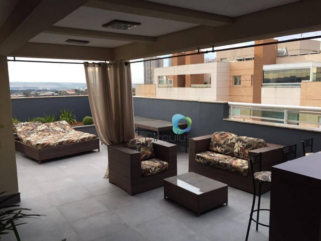cobertura à venda, 206 m² por r$ 846.000,00 - jardim botânico - ribeirão preto/sp - co0024