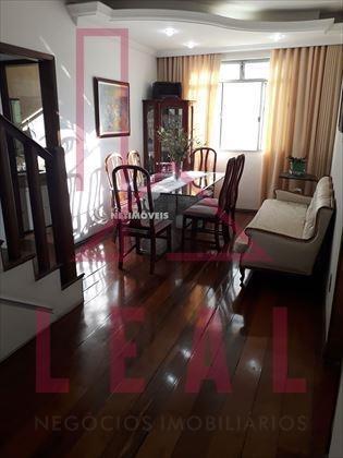cobertura à venda, 3 quartos, 2 vagas, cidade nova - belo horizonte/mg - 368
