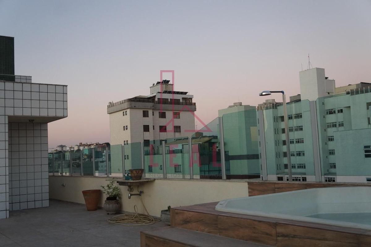 cobertura à venda, 3 quartos, 3 vagas, cidade nova - belo horizonte/mg - 4