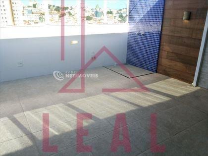 cobertura à venda, 3 quartos, 3 vagas, nova floresta - belo horizonte/mg - 363