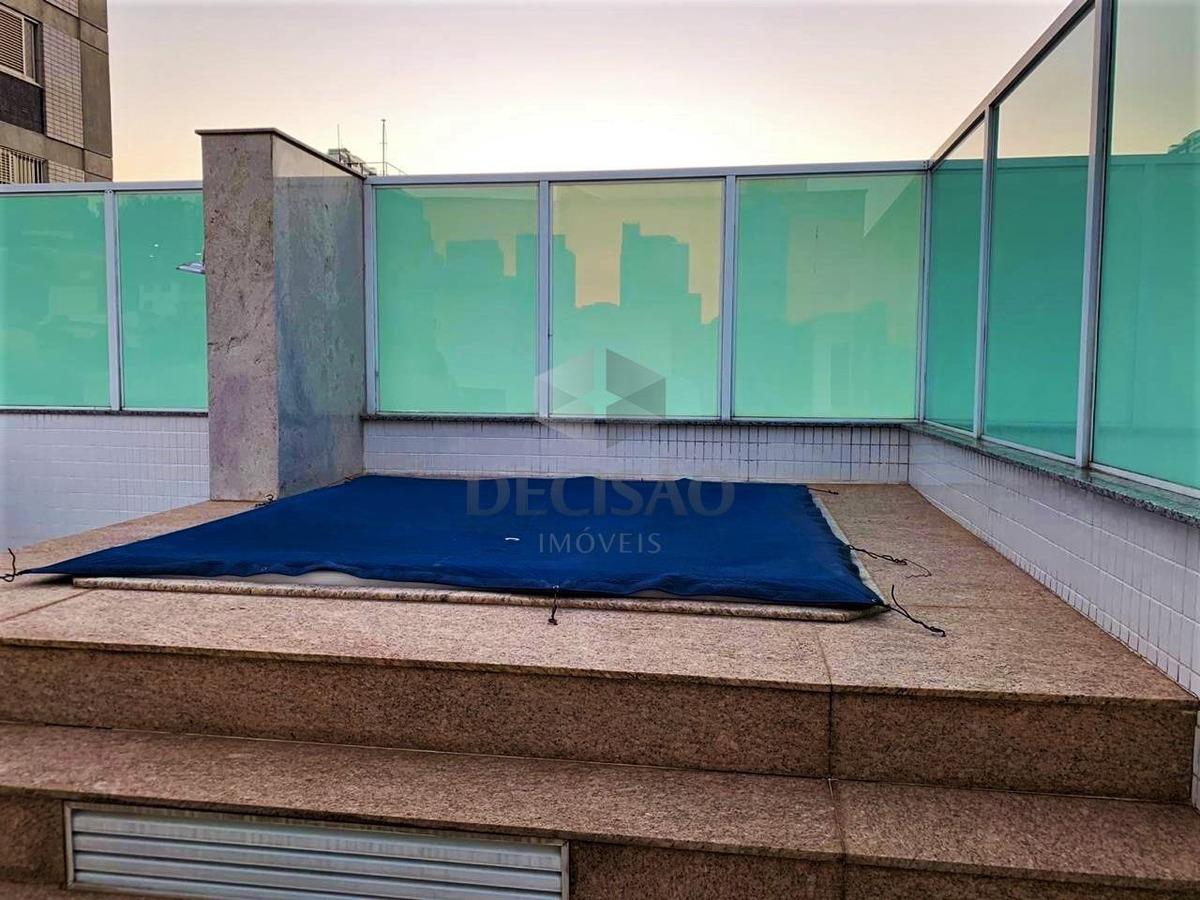 cobertura à venda, 3 quartos, 5 vagas, gutierrez - belo horizonte/mg - 14588