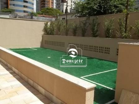 cobertura à venda, 380 m² por r$ 3.999.999,00 - jardim - santo andré/sp - co0623