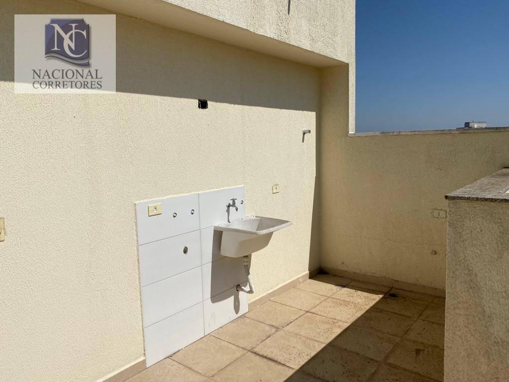 cobertura à venda, 88 m² por r$ 270.000,00 - parque oratório - santo andré/sp - co4672
