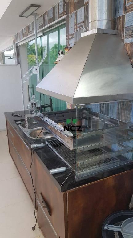 cobertura à venda com 3 dormitórios, 198 m² por r$ 550.000 - buraquinho - lauro de freitas/ba - co0118