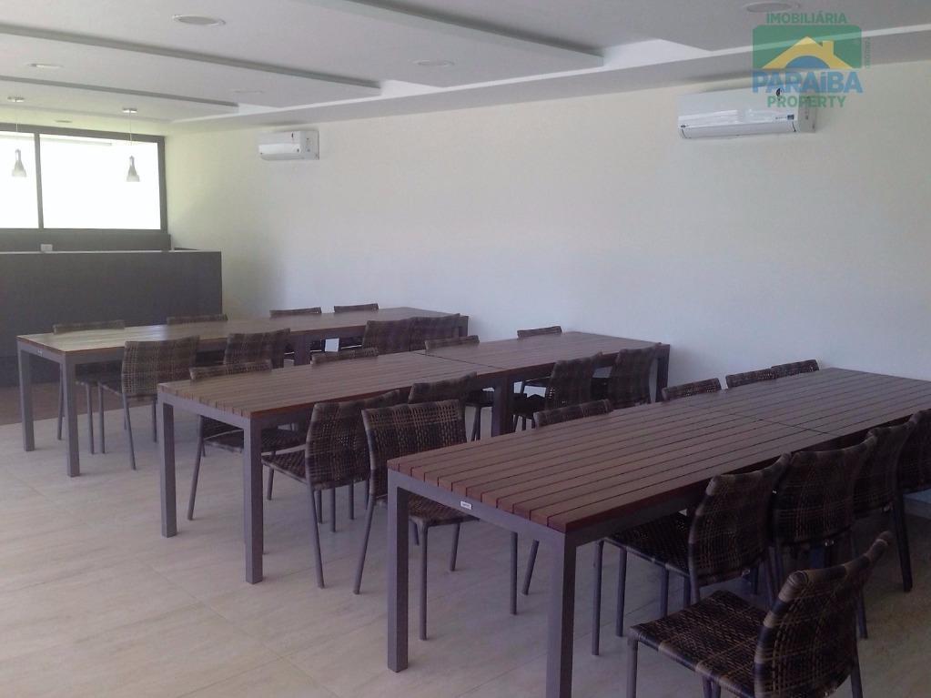 cobertura vista mar à venda - praia de tambaú - joão pessoa - pb - co0018