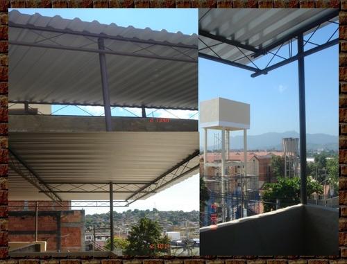 coberturas de alumínio para residências e galpões