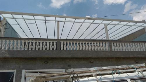 coberturas de policarbonato $ 199,00 .m2 aproveite