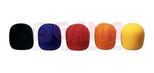 coberturas para microfonos rompeviento kit 5 colores mf5 koo
