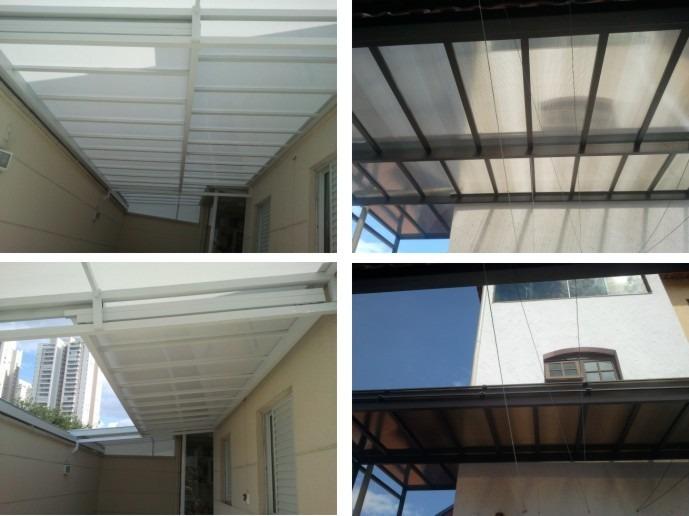 Coberturas pergolado toldo policarbonato vidro fixo - Perfiles de aluminio para toldos ...