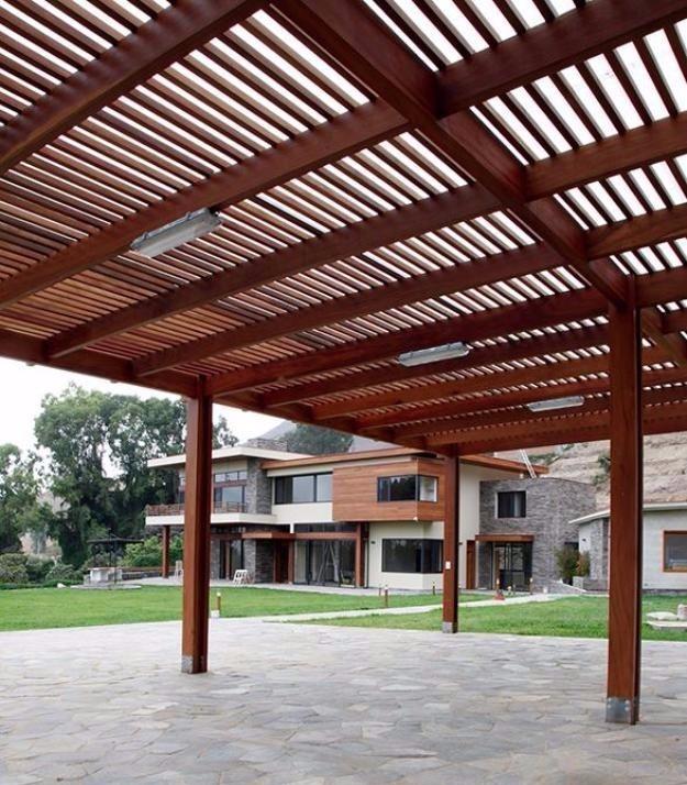 Coberturas techos terrazas s 1 00 en mercado libre - Techos de madera para terrazas ...