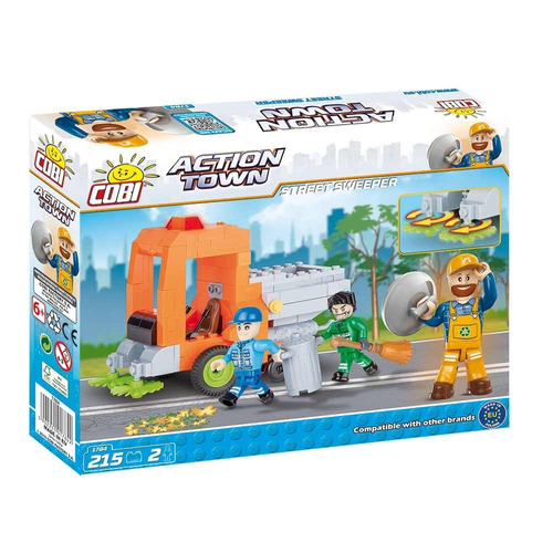 cobi action town camion barrendero (8608)