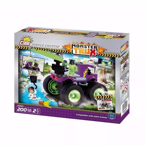 cobi monster trux purple monster x 200 piezas (8684)